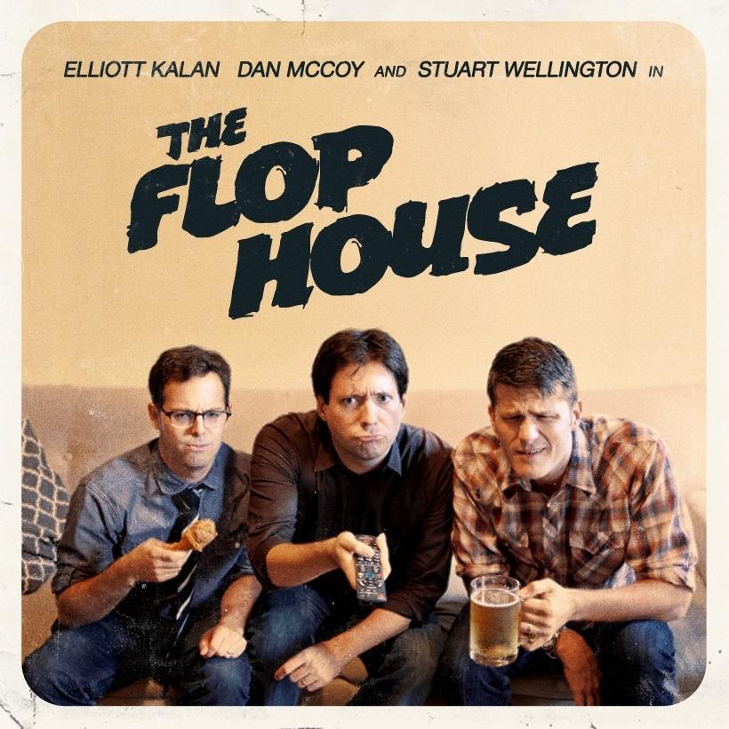 Dan McCoy, Stuart Wellington & guest flopper Ronny Chieng